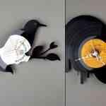 Re_Vinyl, colección de relojes de vinilo para pared de Pavel Sidorenko 5
