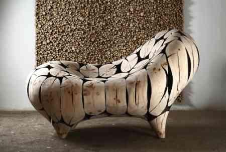Muebles-escultura de Jae Hyo Lee 1