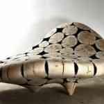 Muebles-escultura de Jae Hyo Lee 4