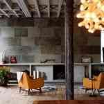 Piedra y madera como elementos decorativos 5