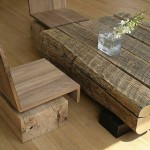 Piedra y madera como elementos decorativos 8