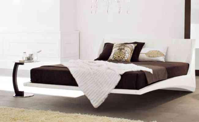 Dylan una cama flotante decoraci n de interiores opendeco - Disenos de camas modernas ...
