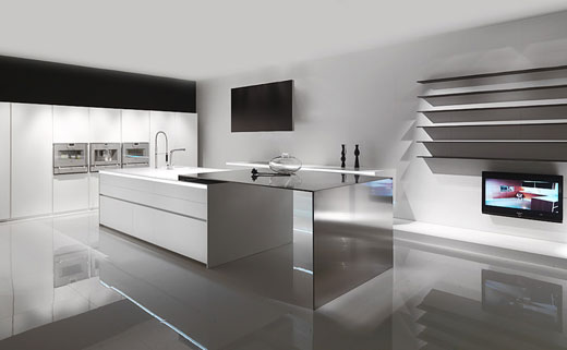 Heavenly Home Interior Beside Modern Kitchen Ideas Pict Cocinas Minimalistas De Poggenpohl Decoraci N De Interiores