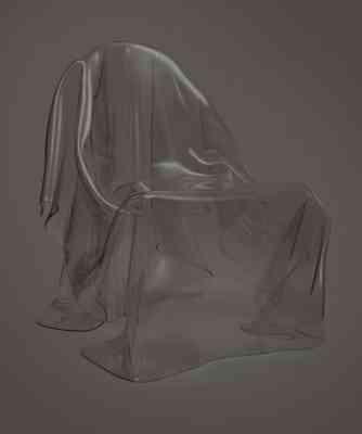 Una silla fantasma, ¡ideal para Halloween! 2