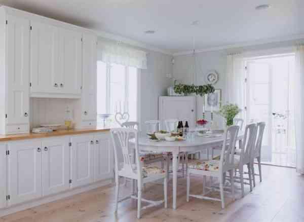 El estilo sueco en la decoraci n del hogar decoraci n de for Comedor diario decoracion
