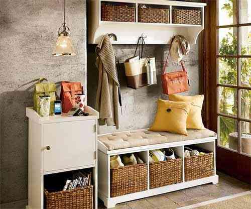 Decora tu recibidor con los muebles de Pottery Barn - Decoración de ...