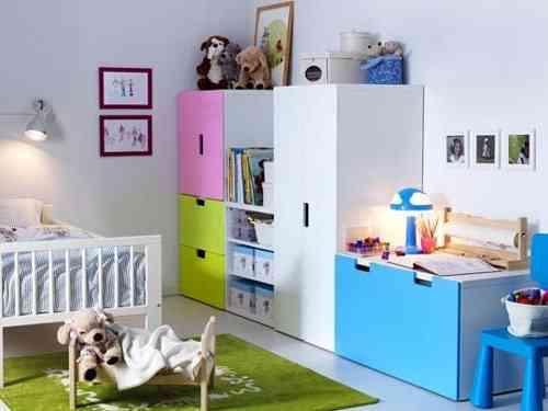 Muebles de Ikea para una decoración infantil - Decoración de ...