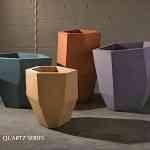 Macetas de diseño abstracto para tu hogar 10