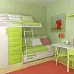 Imágenes que inspiran: dormitorios verde manzana 2