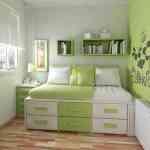 Imágenes que inspiran: dormitorios verde manzana 3
