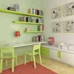 Imágenes que inspiran: dormitorios verde manzana 4