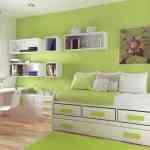 Imágenes que inspiran: dormitorios verde manzana 5