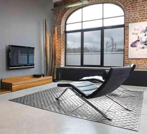 Elegantes alfombras de cuero para tu hogar 1