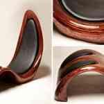 Lounge Chair, silla con 152 capas de madera de Kyle Buckner 15