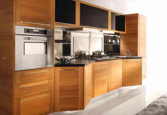 Muebles para cocinas con muchos ángulos y esquinas - Decoración de ...