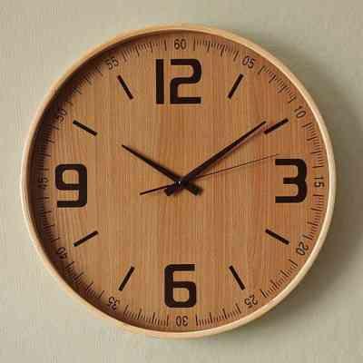 El reloj de pared pasado de moda decoraci n de interiores opendeco - Relojes de cocina modernos ...