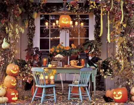 Decoración escalofriante para Halloween: exteriores 1