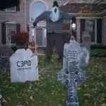 Decoración escalofriante para Halloween: exteriores 13
