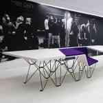 SitTable, una mesa con sillas incorporadas muy moderna 3