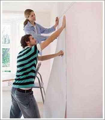 Qu pongo en las paredes decoraci n de interiores opendeco - Empapelar una pared ...