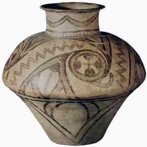 Vasija neolitica de ceramica