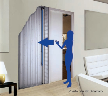 Casas cocinas mueble puertas correderas de cristal - Puertas correderas empotradas ...