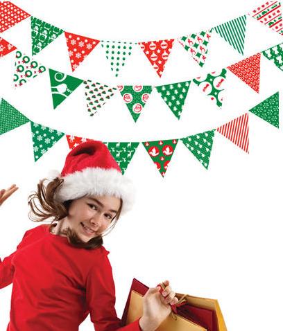 Vinilos navideños para tus paredes 1