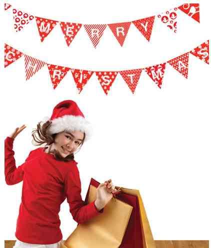 Vinilos navideños para tus paredes 2