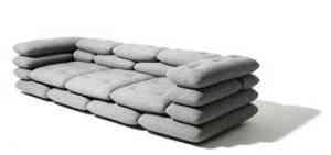 Sofá de sacos de arena