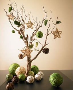 Árbol de Navidad para una decoración rústica 1