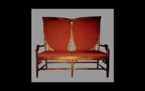 sillón art nouveau