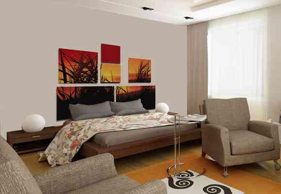 Cabeceros puzzle de im personal decoraci n de interiores - Cabeceros originales manualidades ...