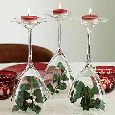 Ideas para realizar un centro de mesa navideño 1