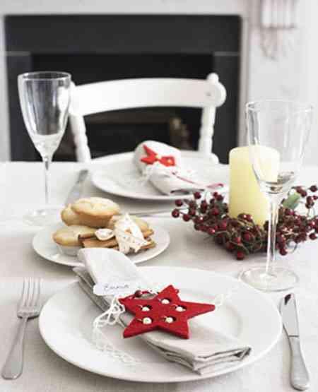 Peque os detalles para tu mesa navide a decoraci n de - Decoracion navidena para la mesa ...