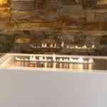 Minimalismo en la chimenea gracias a Planika Fires 3