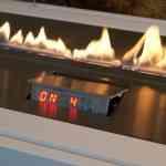Minimalismo en la chimenea gracias a Planika Fires 4