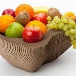 Fabrica tu propio frutero de cartón gratis diseñado por SEMdesign 3