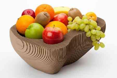 fabrica tu propio frutero de cart n gratis dise ado por