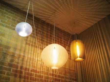 Lámparas al estilo de los farolillos de fiesta 1
