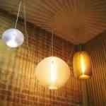 Lámparas al estilo de los farolillos de fiesta 2