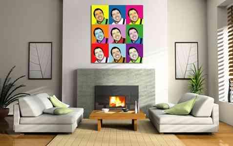 Decora tu sala con una foto en lienzo 1