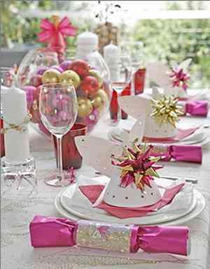 Im genes que inspiran mesas navide as decoraci n de - Mesas navidenas decoracion ...