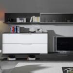 Salón bicolor gris ceniza 3
