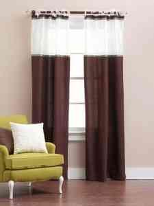 Luz e intimidad: cortinas a dos telas 1