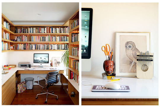 M s ideas para la oficina en casa decoraci n de - Decoracion oficina en casa ...