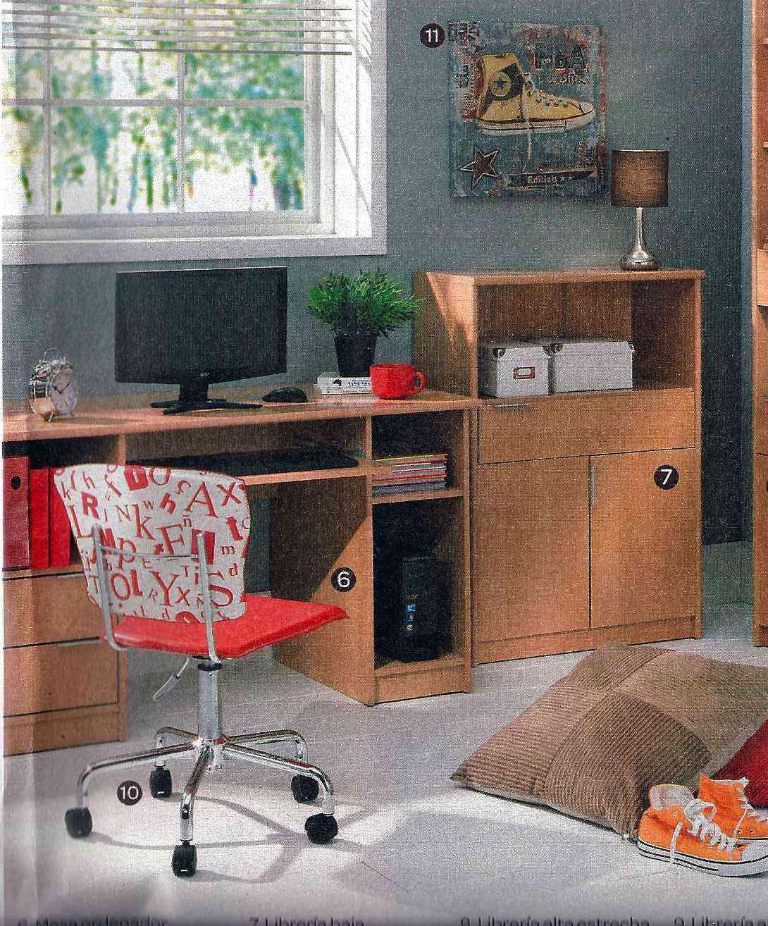 Comparativa de precios en dormitorio juvenil decoraci n for Armario zapatero carrefour