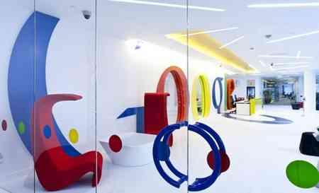 Decoración de las oficinas de Google en Londres 1
