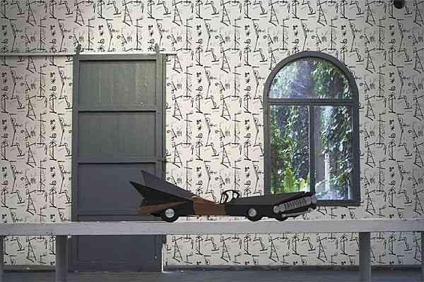 Papel pintado para decorar una pared decoraci n de interiores opendeco - Papel para cubrir paredes ...