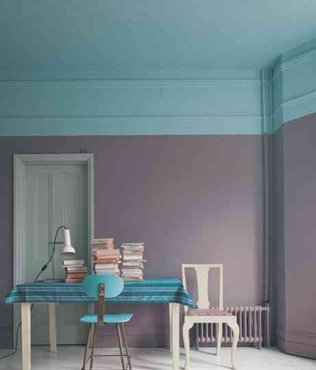 Ideas para pintar bandas de colores decoraci n de for Ideas para pintar mi casa exterior