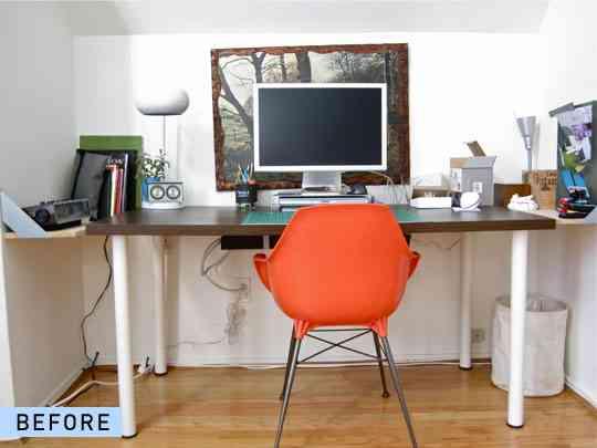 Convertir un escritorio para dos 1